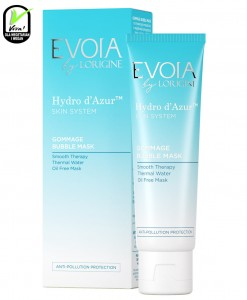 EVOIA GOMMAGE BUBBLE MASK - maska gommage do twarzy 50ml